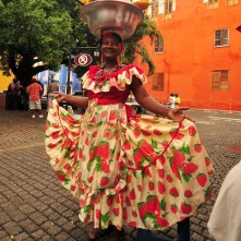 Local Woman in Cartagena. Photo: Pixabay