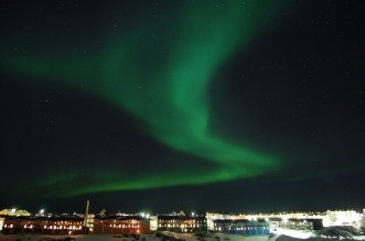The Northern Lights over Nuuk. Photo: Pxabay