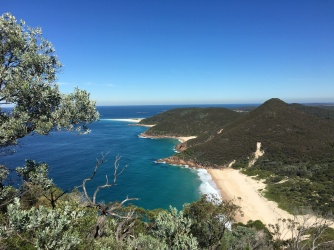View of Zenith Beach. Photo: Maria Schindlecker
