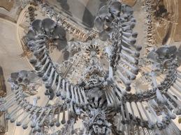 Seldec Ossuary, Kutna Hora : Bone Chandelier