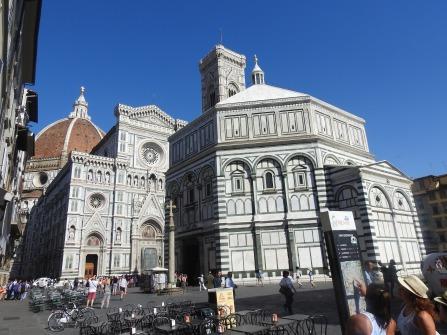 The Duomo & Baptistery